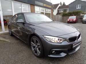 2015 65 BMW 4 Series 430d xDrive M Sport 5dr Auto [Professional Media] 5 Doors COUPE