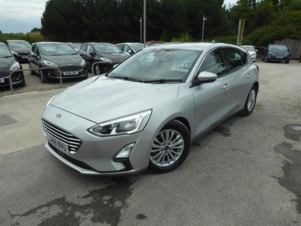 2018 (68) Ford Focus 1.0 EcoBoost Titanium Navigation 125 PS Automatic 1 Owner For Sale In Brixham, Devon