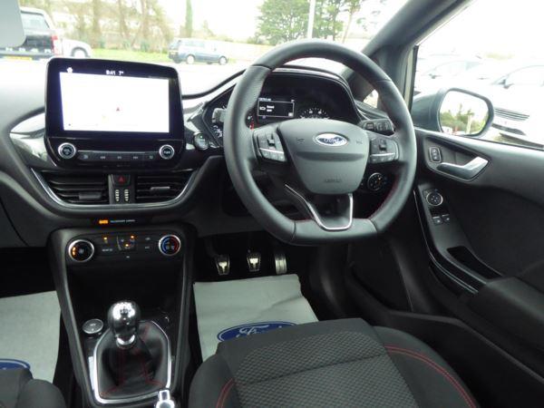 2019 (19) Ford Fiesta 1.0 EcoBoost ST-Line Navigation 100 PS For Sale In Brixham, Devon