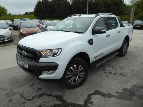 2018 (68) Ford Ranger Pick Up Double Cab Wildtrak 3.2 TDCi 200 Auto 1 Owner From New For Sale In Brixham, Devon