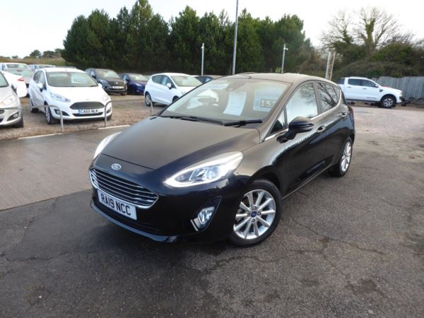 2019 (19) Ford Fiesta 1.0 EcoBoost Titanium X 100 PS Very Low Miles 1 Owner For Sale In Brixham, Devon