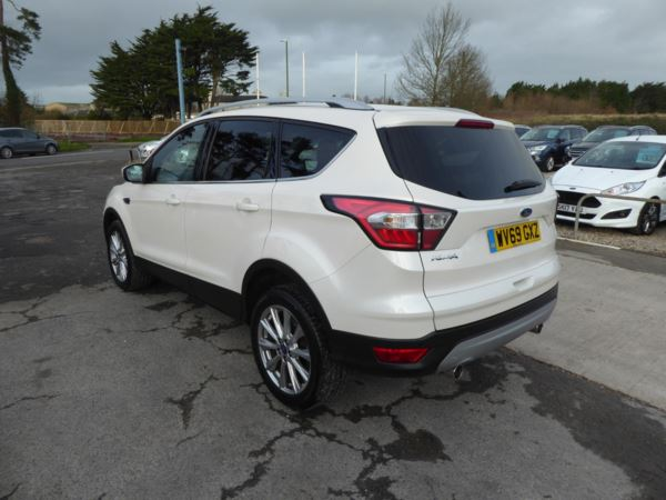 2019 (69) Ford Kuga 2.0 TDCi Titanium Edition 150 PS 2WD Appearnace Pack For Sale In Brixham, Devon