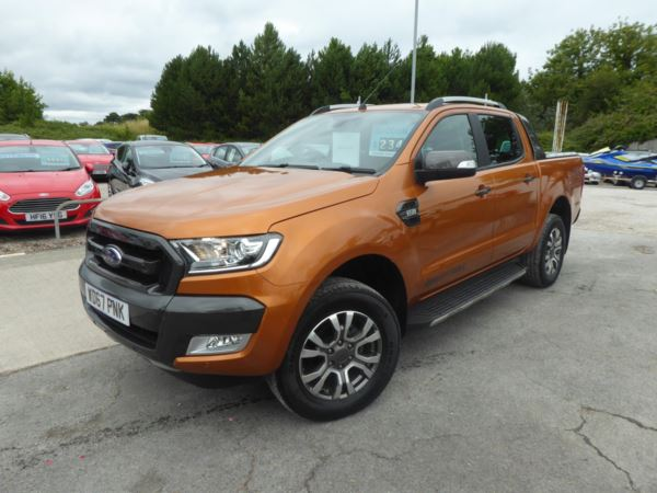 2017 (67) Ford Ranger Pick Up Double Cab Wildtrak 3.2 TDCi 200 PS 4WD Automatic NO VAT!! For Sale In Brixham, Devon