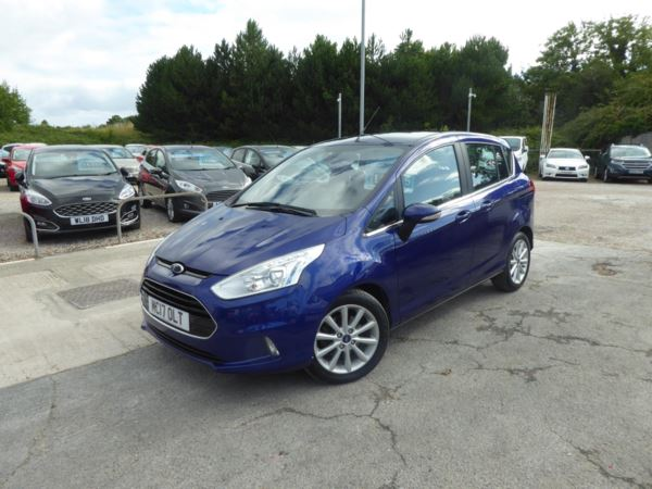 2017 (17) Ford B-MAX 1.6 Titanium Navigator 105 PS Automatic 1 Owner From New For Sale In Brixham, Devon