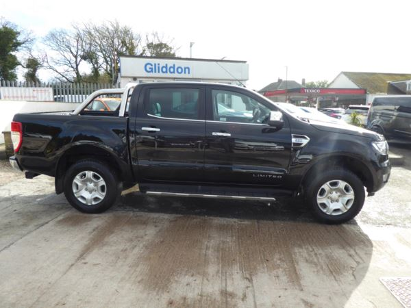2019 (19) Ford Ranger Double Cab Limited 2 Pick Up 2.2 TDCi 160 PS 4WD Automatic For Sale In Brixham, Devon