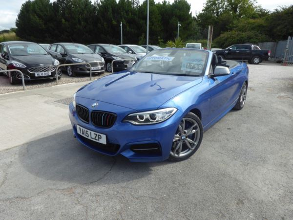 2015 (15) BMW 2 Series M235i Convertible 326 PS Step Automatic Low Miles !! For Sale In Brixham, Devon