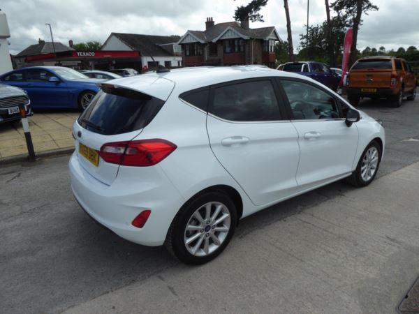 2020 (69) Ford Fiesta 1.0 EcoBoost Titanium Navigation 125 PS 1 Owner For Sale In Brixham, Devon