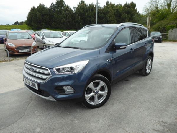 2018 (18) Ford Kuga 2.0 TDCi 180 PS Titanium X AWD Appearance Pack For Sale In Brixham, Devon