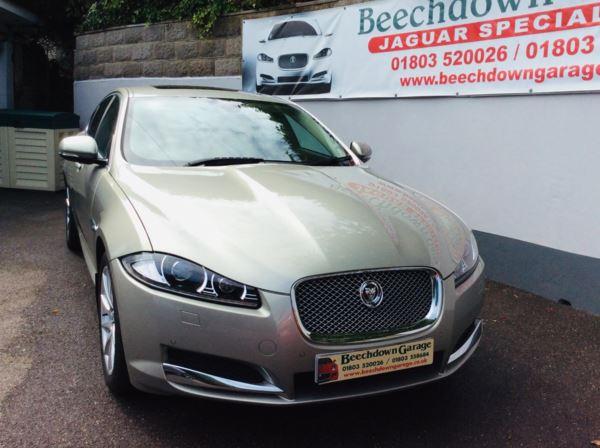 2012 (62) Jaguar XF 2.2d [200] Premium Luxury 4dr Auto (2013 MODEL YEAR) For Sale In Paignton, Devon