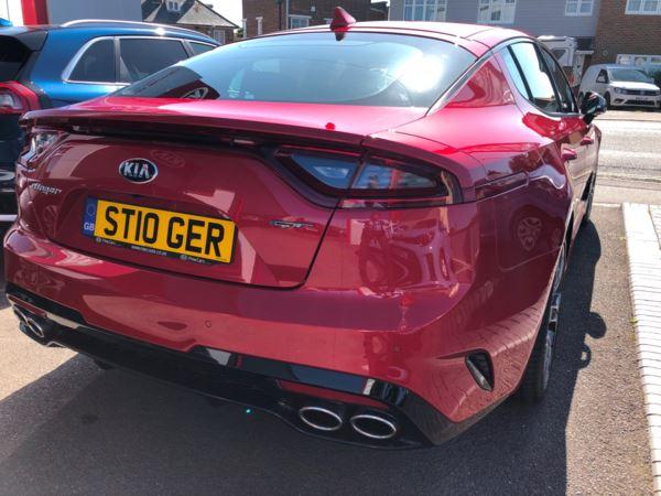 2019 (19) Kia Stinger 3.3 T-GDi GT S 5dr Auto [Grey Nappa Leather] For Sale In Gosport, Hampshire