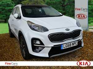 2018 68 Kia Sportage 1.6T GDi ISG 4 5dr 5 Doors 4x4