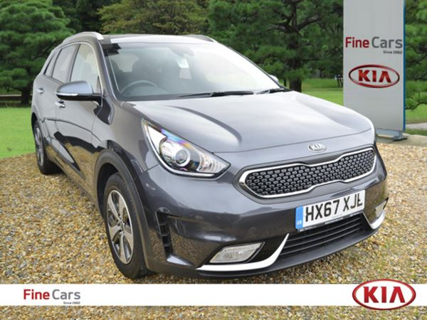 2017 (67) Kia Niro 1.6 GDi Hybrid 2 DCT Auto For Sale In Gosport, Hampshire
