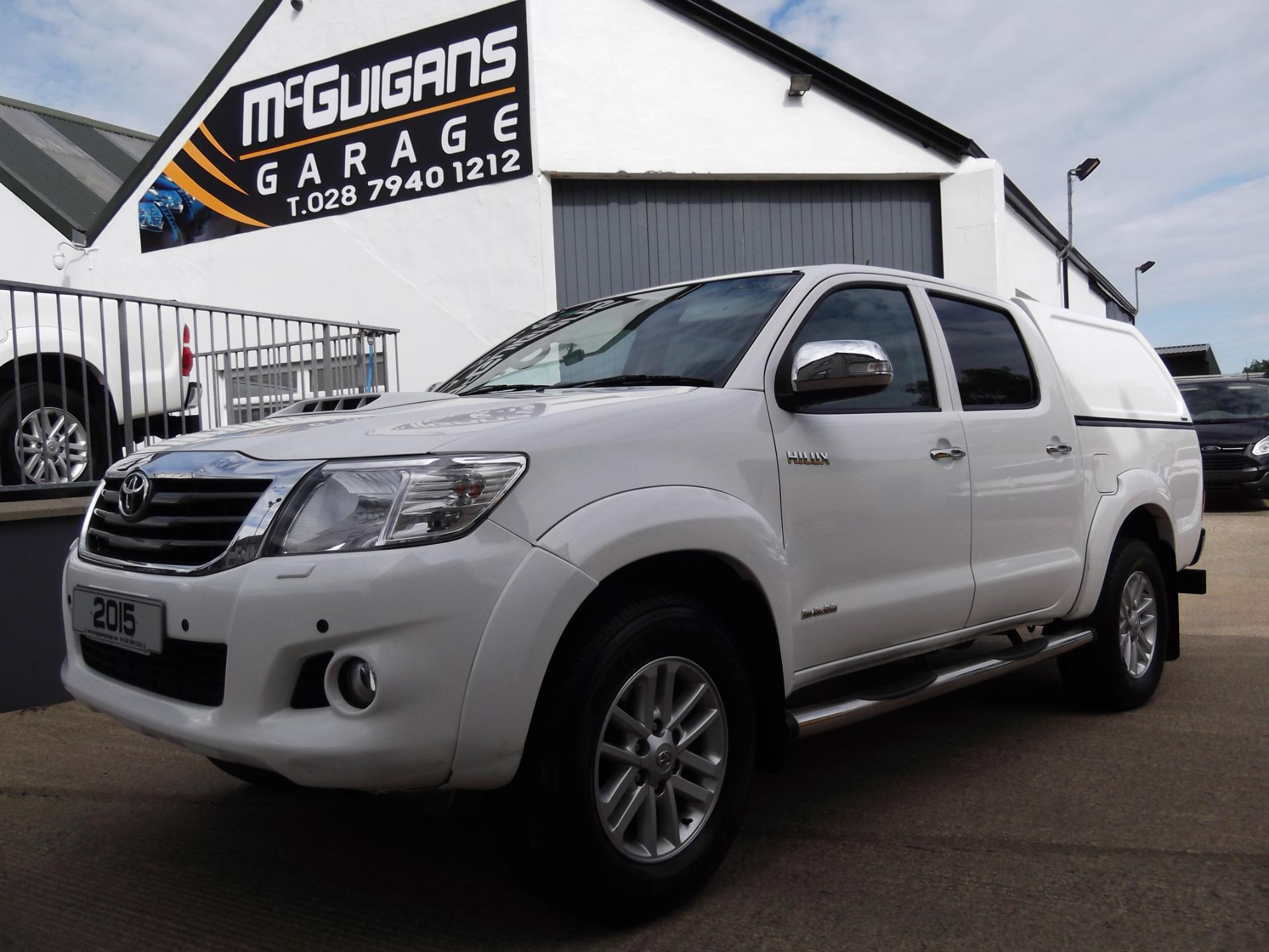 Used Toyota Hilux INVINCIBLE , 3 0 D-4D 171 , 4x4 , SAT NAV