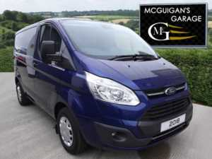 2018 (18) Ford Transit Custom 270, TREND, 130ps, L1 / SWB , LED Lights & Power Converter For Sale In Swatragh, County Derry