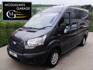 2018 (18) Ford Transit 290, TREND, 130ps, L2 / MWB, H2 / MR, LED Lights & Power Converter For Sale In Swatragh, County Derry