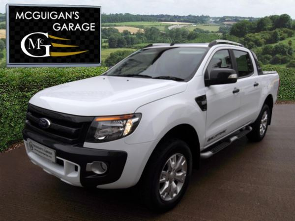 2014 (64) Ford Ranger Wildtrak 3.2 TDCi 200 , Roll Top Cover and Tow Bar , 6 Speed For Sale In Swatragh, County Derry