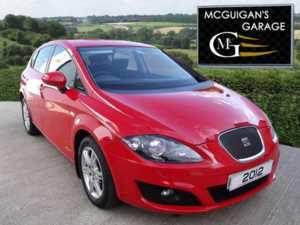 2012 (62) SEAT Leon 1.6 TDI CR Ecomotive , SE Copa , Sat Nav , Park Sensors For Sale In Swatragh, County Derry
