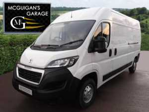 2018 (18) Peugeot Boxer 335 Professional , BlueHDi 130ps, L3 / LWB, H2 / MR For Sale In Swatragh, County Derry