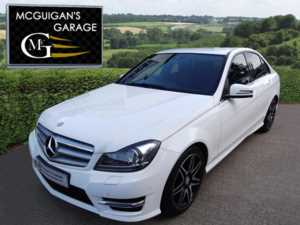 2013 (13) Mercedes-Benz C Class C220 CDI BlueEFFICIENCY , AMG Sport Plus , Tip Auto For Sale In Swatragh, County Derry