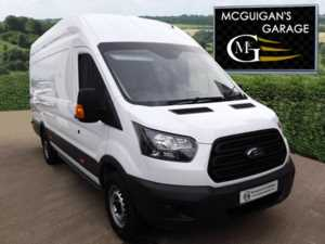 2018 (18) Ford Transit 350 , TDCi 130ps , L4 H3 , Jumbo Van For Sale In Swatragh, County Derry