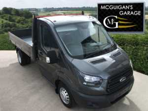 2018 (67) Ford Transit 350 , 2.0 TDCi 170ps , One Way Tipper with Grey Boards , Twin Rear Wheels For Sale In Swatragh, County Derry
