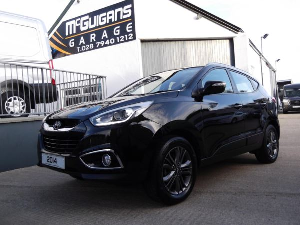 2014 (63) Hyundai Ix35 1.7 CRDi, SE NAV, 5DR, 2WD, REVERSE CAMERA, HALF LEATHER, PARK SENSORS For Sale In Swatragh, County Derry