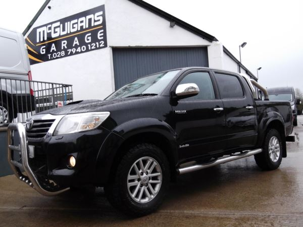 2013 (62) Toyota Hilux Invincible, 3.0 D-4D 171, Leather, Chrome Roll Bar & Front A Bar, Tow Bar For Sale In Swatragh, County Derry