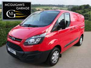 2014 (14) Ford Transit Custom 270 , 2.2 TDCi 100ps , Low Roof Van , Ply Lined For Sale In Swatragh, County Derry