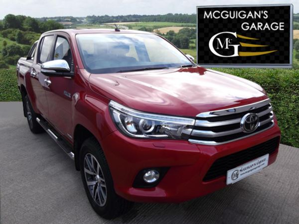 2017 (17) Toyota Hilux INVINCIBLE D-4D 4WD, 6 Speed, Roll Top Cover, Chrome Roll Bar, Load Liner For Sale In Swatragh, County Derry