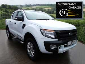 2014 (64) Ford Ranger Wildtrak 3.2 TDCi 200, Mountain Top and Tow Bar For Sale In Swatragh, County Derry