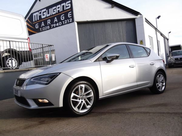 2015 (64) SEAT Leon 1.6 TDi 105, SE TECHNOLOGY PACK, LED HEADLIGHTS, SAT NAV and FRONT FOGS For Sale In Swatragh, County Derry