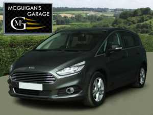 2016 (65) Ford S-MAX 2.0 TDCi 150 , Titanium , Powershift Auto , 7 Seats For Sale In Swatragh, County Derry