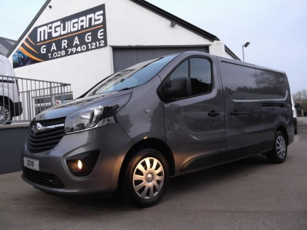 2019 (69) Vauxhall Vivaro 2900, 1.6CDTI BiTurbo 125ps, L2 H1, Sportive, Air Con, Tow Bar, Ply Lined For Sale In Swatragh, County Derry