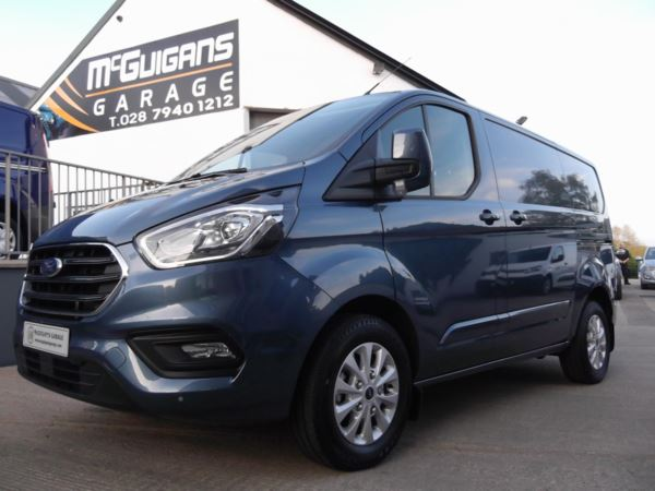 2019 (19) Ford Transit Custom 300 LIMITED , L1 H1 , TDCI 130PS , AIR CON , ALLOYS , 6 Speed For Sale In Swatragh, County Derry
