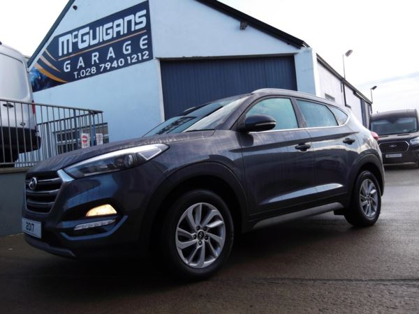 2017 (67) Hyundai Tucson 1.7 CRDi Blue Drive, Premium, 5dr, 2WD, SAT NAV, LEATHER, REVERSE CAMERA For Sale In Swatragh, County Derry