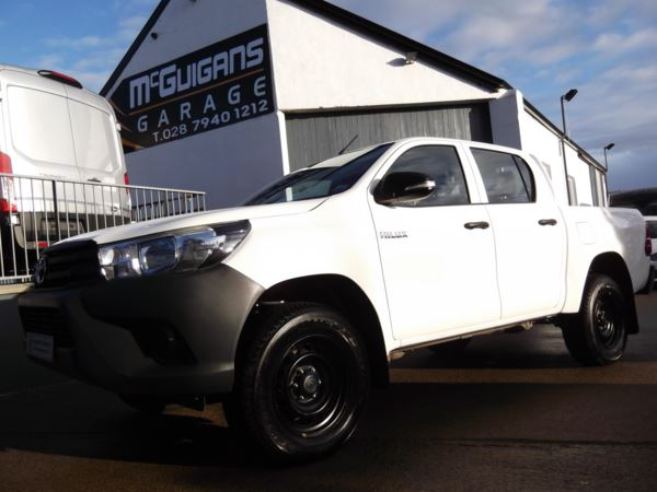 2017 (17) Toyota Hilux ACTIVE , Double Cab , Pick Up , 2.4 D-4D 150 , Tow Bar , Rear Load Liner For Sale In Swatragh, County Derry