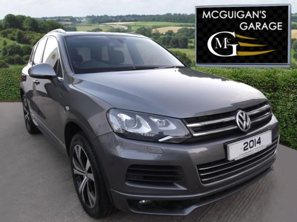 """2014 (63) Volkswagen Touareg 3.0 V6 TDI 245 , R Line , Tip Auto , 20"""" Alloy Wheels , Panoramic Roof For Sale In Swatragh, County Derry"""