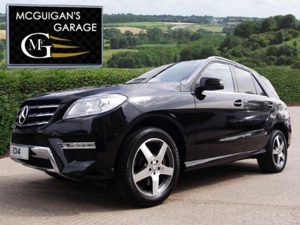 2014 (14) Mercedes-Benz ML 350 CDi BlueTec , AMG SPORT , AUTO For Sale In Swatragh, County Derry