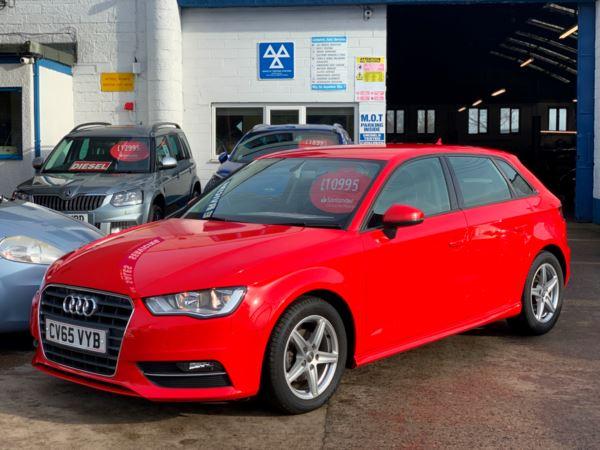 2015 (65) Audi A3 1.6 TDI Ultra 110 SE £ZERO TAX, FSH, VERY LOW MILES. For Sale In Richmond, North Yorkshire