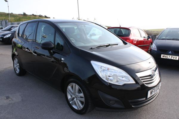 2011 (11) Vauxhall Meriva 1.4i 16V SE 5dr For Sale In Weymouth, Dorset