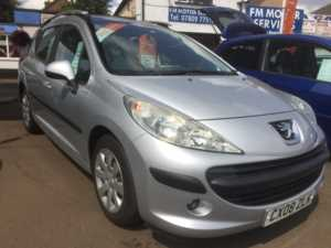 2008 (08) Peugeot 207 AUTOMATIC ESTATE 1.6 VTi S Estate Auto For Sale In Whittlesey, Peterborough