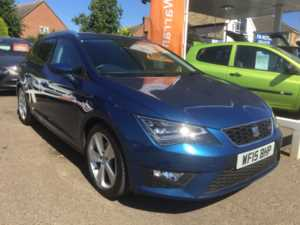 2015 (15) SEAT LEON ESTATE 2.0 TDI FR Technology Estate For Sale In Whittlesey, Peterborough