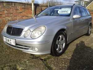 2004 (54) Mercedes-Benz E CLASS 2.2 220 CDI AVANTGARDE AUTOMATIC ESTATE F.S.H For Sale In Datchet, Berkshire