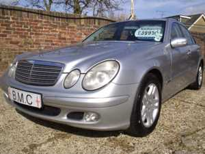 2004 (04) Mercedes-Benz E Class 2.2 220 CDI CLASSIC RARE 6-SPEED MANUAL For Sale In Datchet, Berkshire