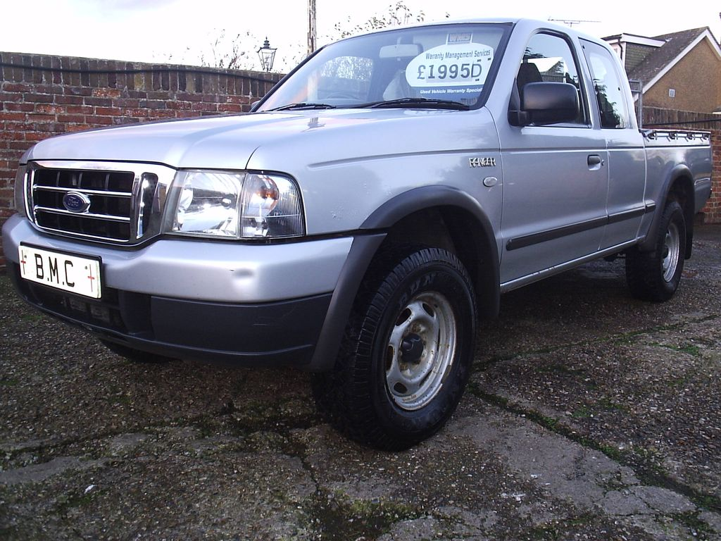 Used Ford Ranger Supercab 2 5td Di Xl 4 Seater 4wd Pick Up No