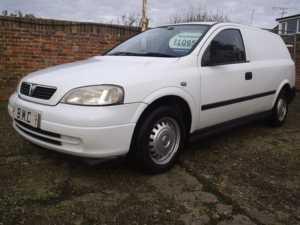 2005 (55) Vauxhall ASTRAVAN ENVOY 1.7 CDTI REAR SEAT CONVERSION WITH SEATBELTS X NO VAT X For Sale In Datchet, Berkshire
