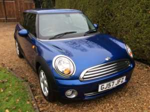 2007 (57) MINI HATCHBACK 1.4 One 3dr For Sale In Epping, Essex