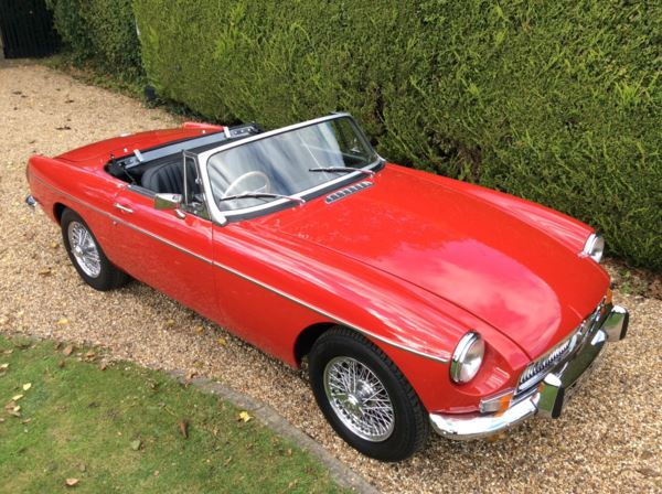 1973 (M) MG B Roadster DEPOSIT TAKEN For Sale In North Weald, Essex