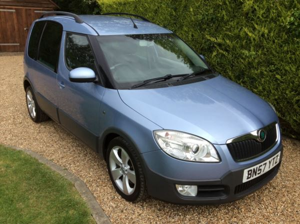 2007 (57) Skoda Roomster 1.9 TDI PD Scout 5dr For Sale In Epping, Essex