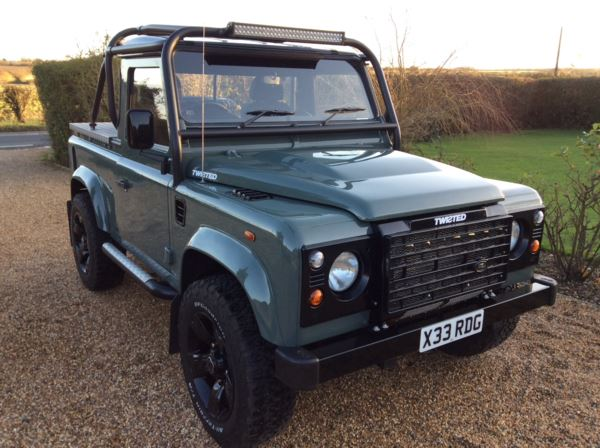 2007 (07) Land Rover Defender Pick Up 2.4 TDCi Twisted For Sale In North Weald, Essex